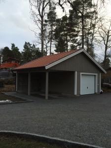 Carport garage i Kummelnäs