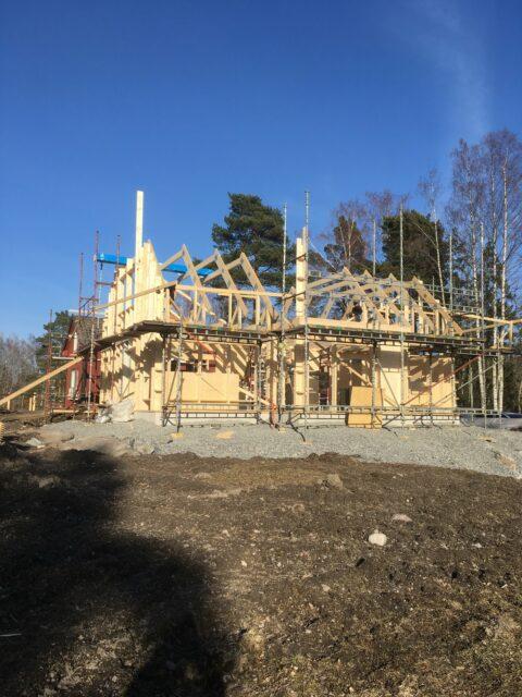 Lösvirkeshus i Norrtälje