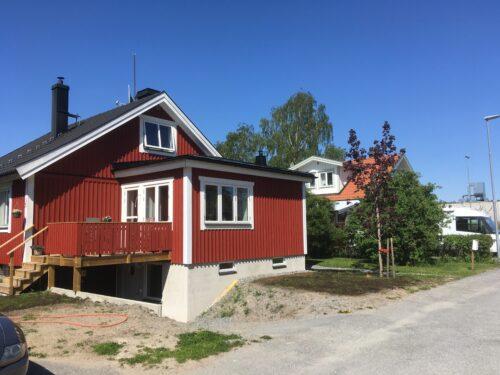 Tillbyggnad i Norrtälje